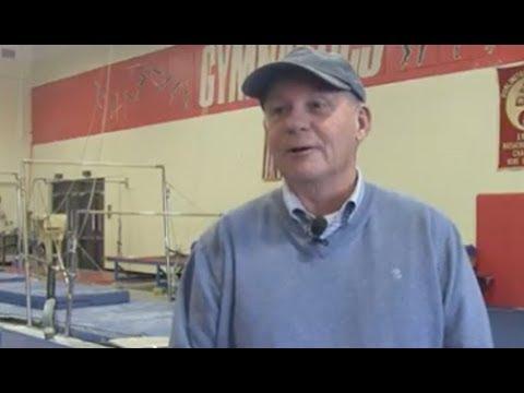 Gymnastics Coach Rick Hayes Gym Dedication