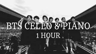 [1 Hour] BTS Cello and Piano [1시간] 방탄소년단 첼로와 피아노