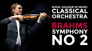RCM Chamber Orchestra: Mats Zetterqvist directs Brahms Symphony no 2 in D major