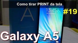 Samsung Galaxy A5 - Screenshot ou Print Screen da Tela - Português