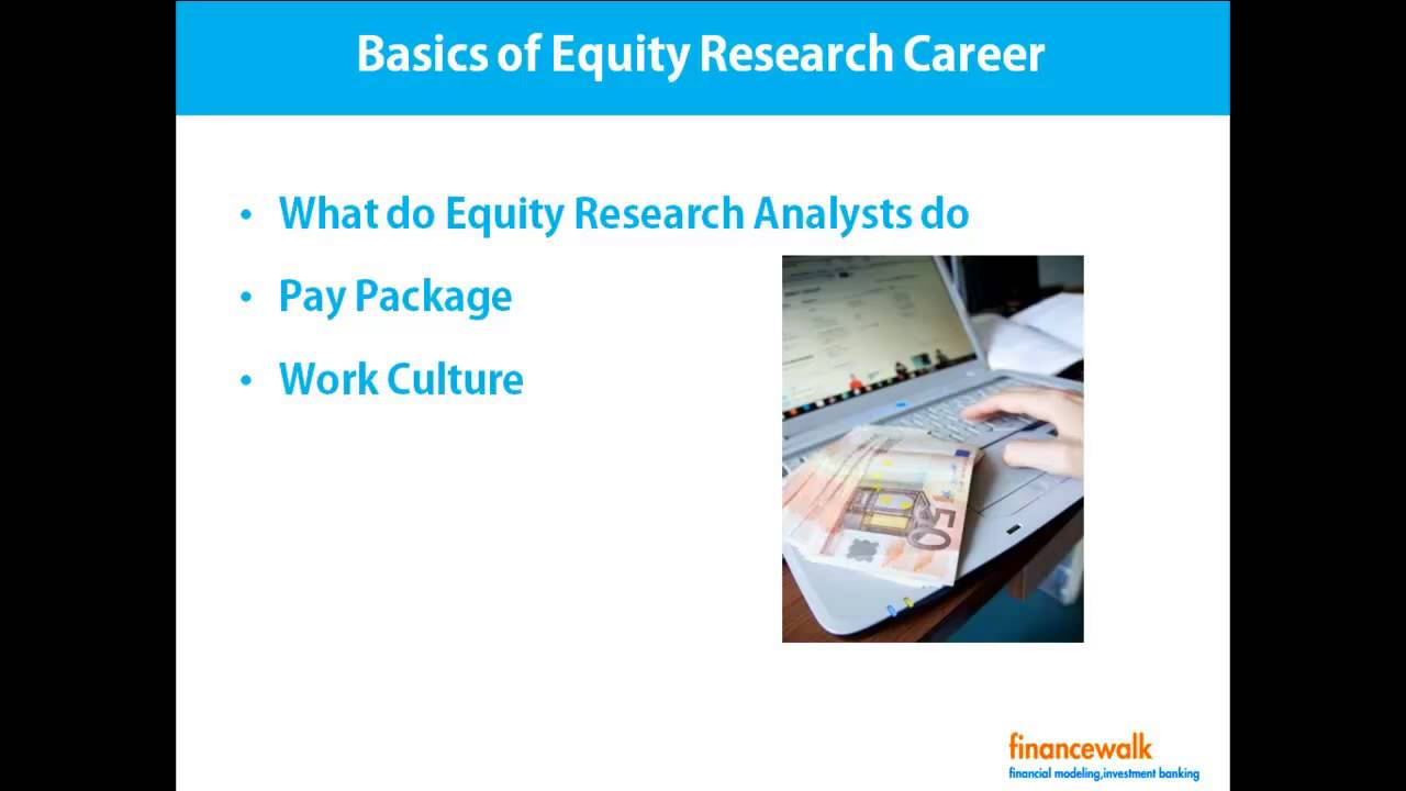 basics of equity research career pay salary youtube