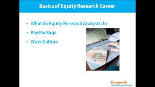 Buy side equity research analyst resume
