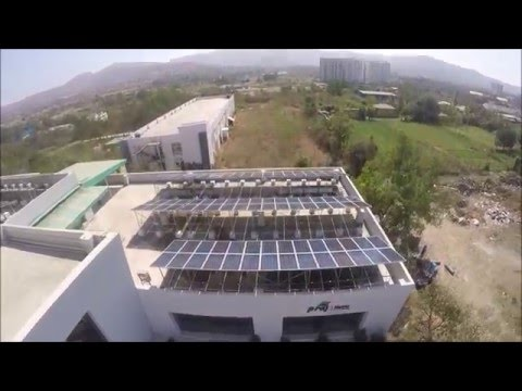 Solar Power plant at Praj Matrix (R&D Division of Praj India Limited), Pune, Maharashtra