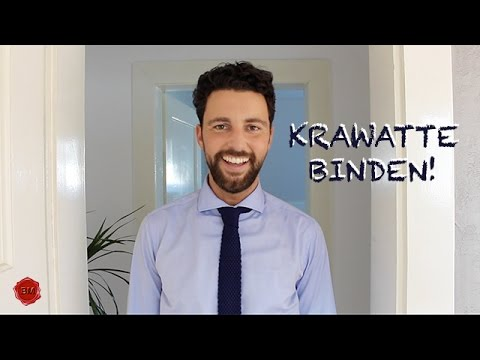 krawatte binden tutorial i ben 39 s mission youtube. Black Bedroom Furniture Sets. Home Design Ideas