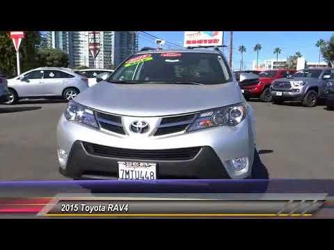 2015 Toyota RAV4 Marina Del Rey, Los Angeles, Santa Monica, Culver City,  Venice, CA T141154