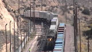 Cajon Pass Summit Traffic Jam - Part 1 of 4 - 10/22/11