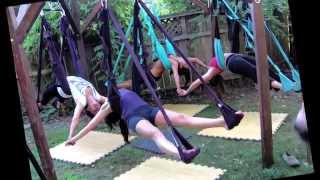 Perfecting Postural Alignment and Balance for Spine Care and Back Care on Omni Aerial Yoga Swing