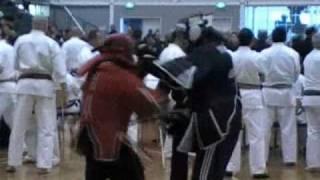 Zen Do Kai BJC-Arnis Sparring Demo