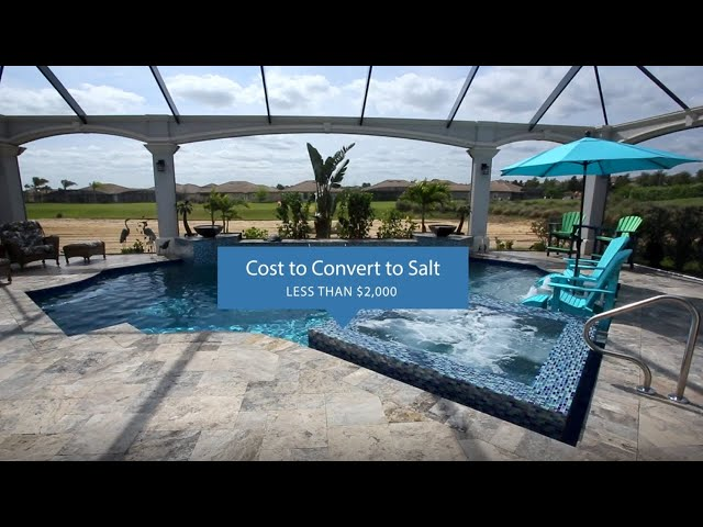 What's the difference between Salt vs Chlorine Pools? | American Pools & Spas