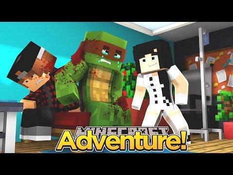 Minecraft Adventure - TINYTURTLE GOES TO HOSPITAL!