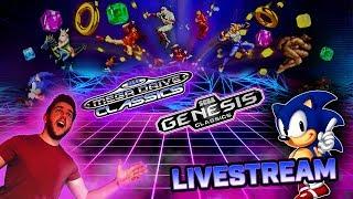 SEGA Mega Drive Classics / Genesis Classics   Livestream Challenges!! (PS4, XBOX ONE)