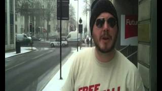 Bjorn from Soilwork says STOP MOANING ABOUT THE SNOW!