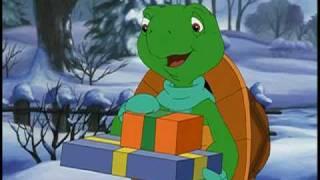 Franklin's Magic Christmas DVD Christmas Card Preview