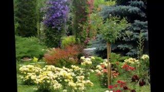 Оформление сада своими руками  Создаем красивые уголки сада