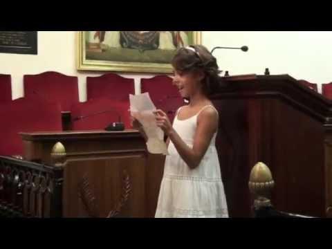 Discurso de Claudia en la boda de Yoli y Vero