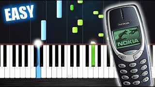 nokia ringtone easy piano tutorial by plutax