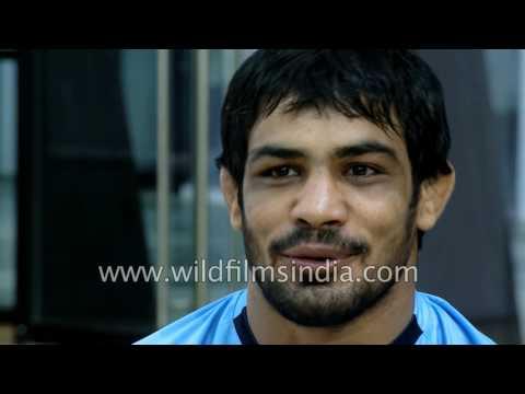 Sushil Kumar, Indian freestyle wrestler won silver at London Olympics , Beijing bronze