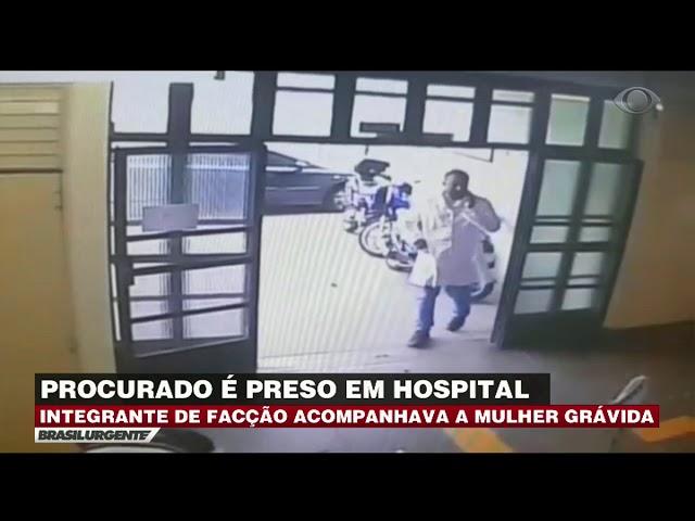 Procurado da Justiça é preso em hospital