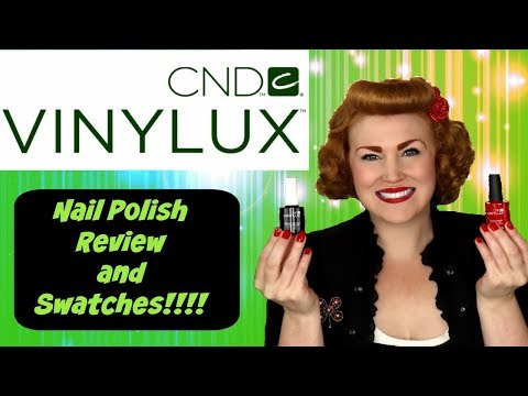 CND Vinylux weekly nail polish review and swatches NEW FORMULA!!!
