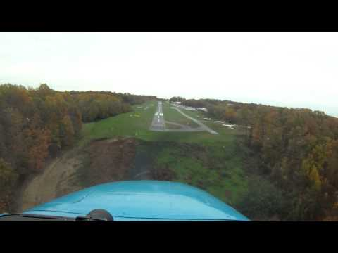Landing at Clearview Airport (2W2), Westminster, MD