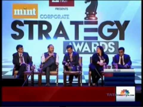 Mint Corporate Strategy Awards 2018  Group Panel Discussion with Mr. Anup Sahay