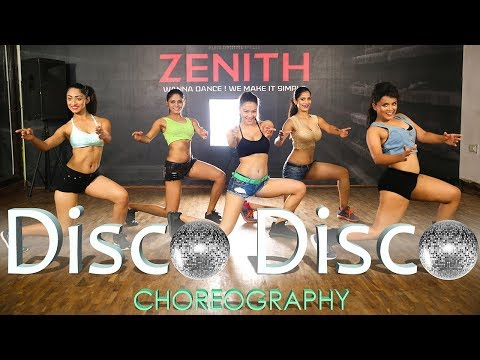 Disco Disco/Choreography/A Gentleman/ Sundar, Susheel/Sidharth/Jacqueline/Sachin-Jigar /Zenith Dance