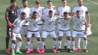 Algérie 2  Mali 0  (U23)  Bravo les jeunes!