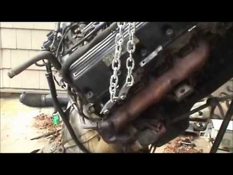 1995 Ford Crown Victoria Engine and Transmission Removal