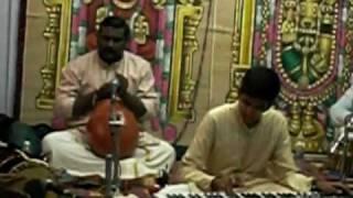Carnatic on Keyboard - Yare RAngana - Hindolam Purandaradasar krithi