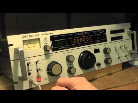 JRC NRD - 93  Receiver Good ears
