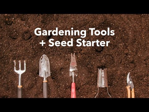 5 Must-Have Gardening Tools AND A Seed-Starter Kit DIY 🌱🌱🌱