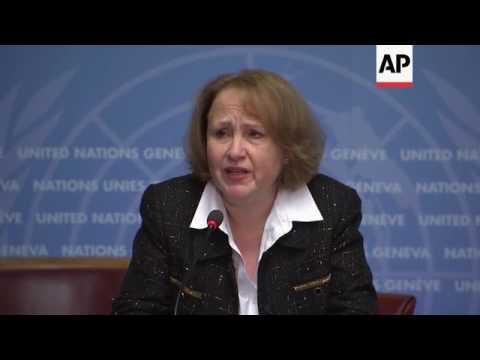 UN on Syria talks, aid