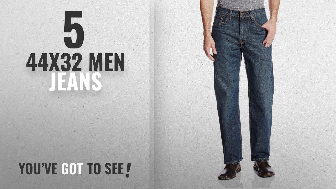 1ddce377 Top 10 44X32 Men Jeans [ Winter 2018 ]: Levi's Men's 550 Relaxed Fit Jean -  Big & Tall, Range, 44x32