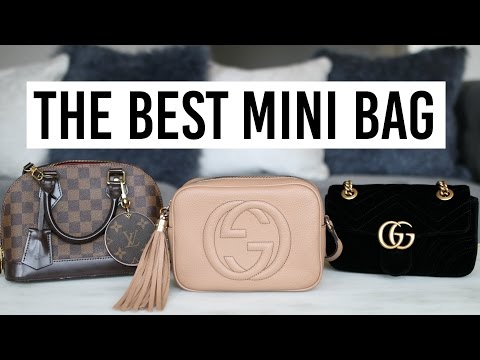WHAT'S IN MY PURSE? + MINI BAG REVIEWS & COMPARISONS