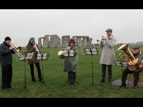 The NAC Orchestra Rideau Lakes Brass Quintet at Stonehenge