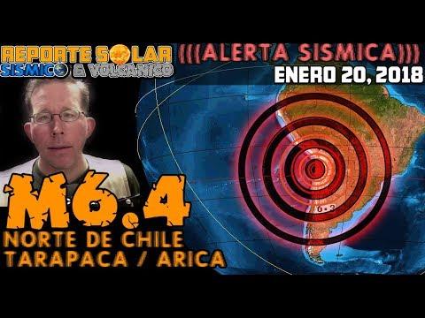 M6.4 FUERTE (((TERREMOTO))) NORTE DE CHILE, BOLIVIA Y SUR DE PERÚ