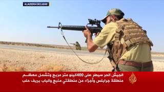 """""""قوات سوريا الديمقراطية"""" تتقدم جنوب منبج بدعم من التحالف"""