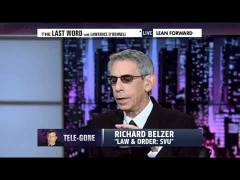 MSNBC-Lawrence O'Donnell & Law and Order-SVU's Richard Belzer On Jerry Lewis and the MDA