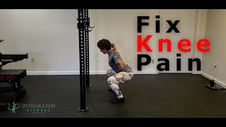 How to get rid of knee pain while squatting