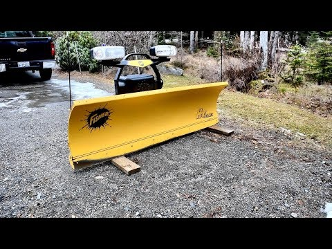 Fisher HT Series Snow Plow Walk Around