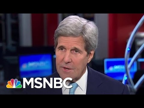 John Kerry Weighs In On Reality Of Climate Change | Morning Joe | MSNBC