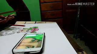 Fortnite skin drawing (zoey)