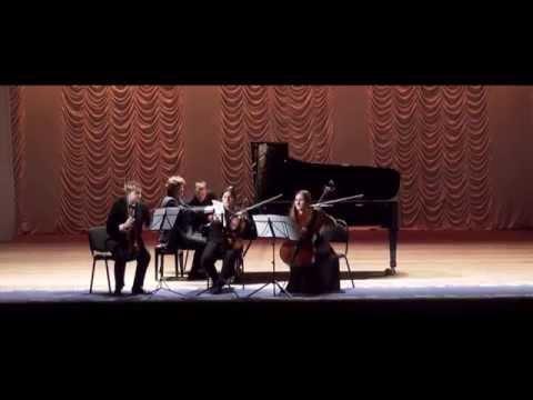 """""""Johannes Brahms - Piano Quartet g-moll (op.25) (Kiev National Music Academy Piano Quartet)"""""""