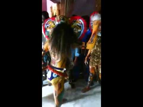 Thakurani Jatra Bagha Nato (tiger dance)