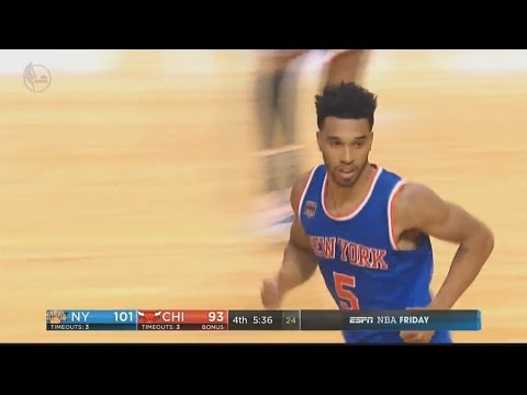 Courtney Lee Full Highlights 17 Points New York Knicks @ Chicago Bulls 11/4/2016 - Efficient!
