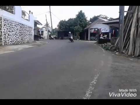 VERO'C Perjalanan pulang menghadiri Anniversary 7 th PMHB ( Paguyuban Motor Honda Bekasi )
