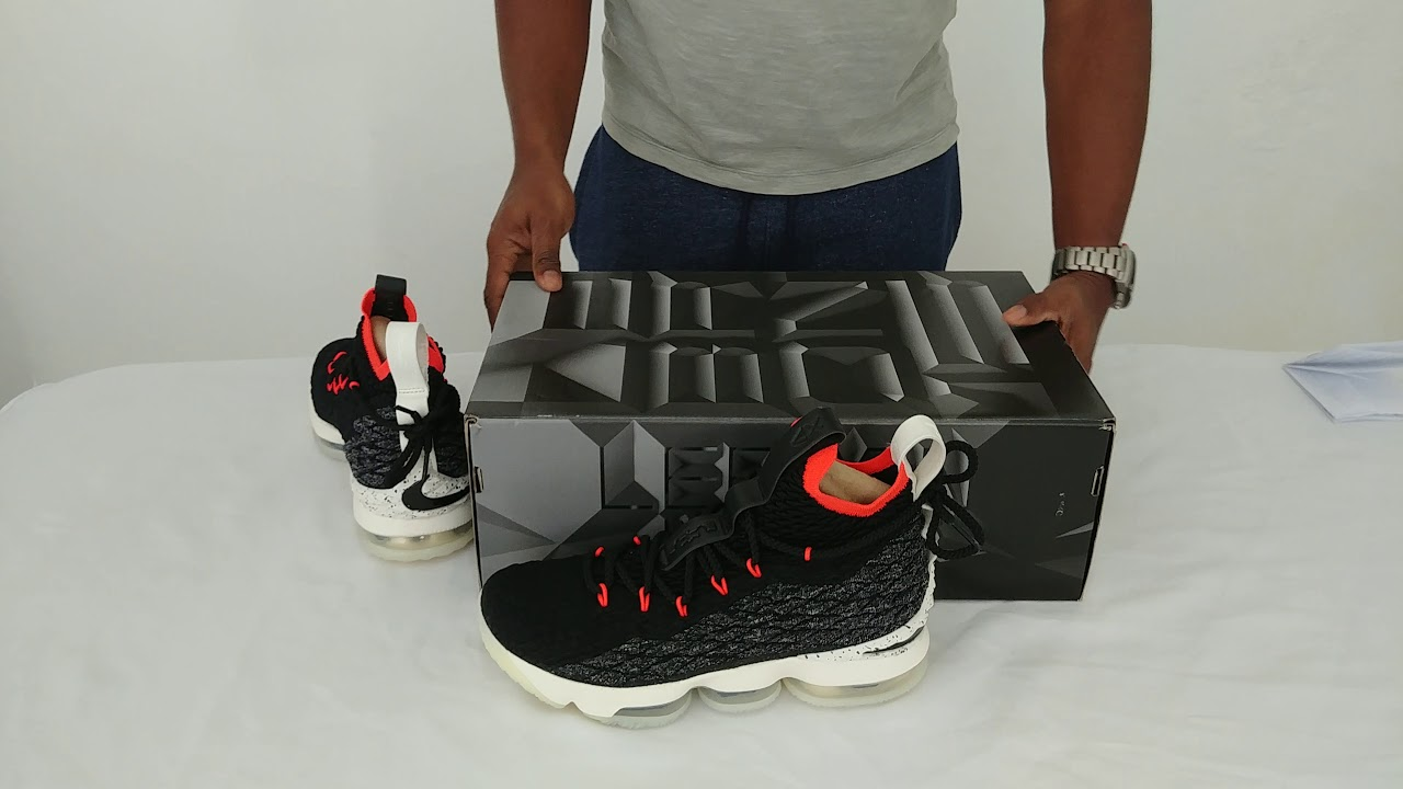 100% authentic 7312a ceea7 Nike Lebron XV Machine 61 - YouTube
