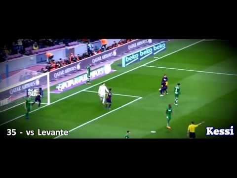 Leo Messi ● All Goals 2014 2015 ● With Commentaries    HD