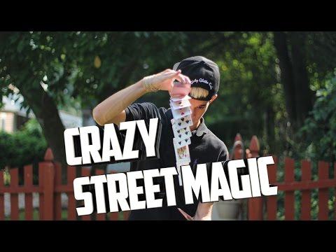 CRAZY Street Magic At The Mall! (David Blaine Style Street Magic) | The Prophets Magic