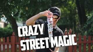 crazy street magic at the mall david blaine style street magic   the prophets magic